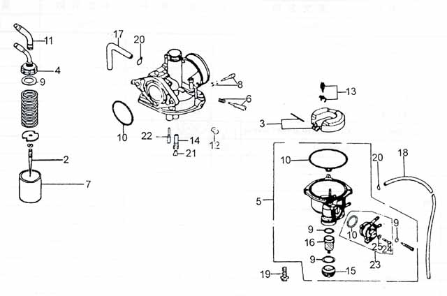 110cc atv carburetor diagram  110cc  free engine image for user manual download